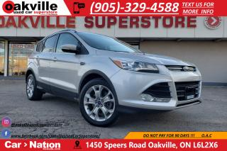 Used 2014 Ford Escape TITANIUM | LEATHER | B/U CAM | PANO ROOF for sale in Oakville, ON