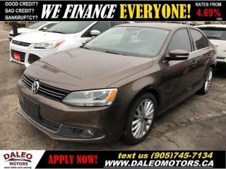 Used 2012 Volkswagen Jetta 2.0 TDI Highline| LEATHER| NAVIGATION| MOONROOF for sale in Hamilton, ON