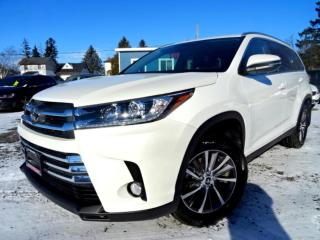 Used 2019 Toyota Highlander XLE AWD V6 Navi Camera Sunroof Certified for sale in Guelph, ON
