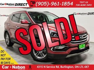 Used 2018 Hyundai Santa Fe Sport 2.4 SE| AWD| LEATHER| PANO ROOF| for sale in Burlington, ON