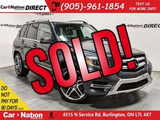 Used 2015 Mercedes-Benz GLK-Class 250 BlueTEC| DUAL SUNROOF| NAVI| for sale in Burlington, ON