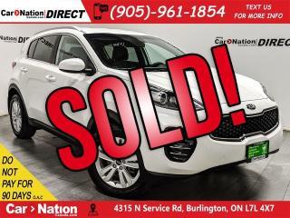 Used 2019 Kia Sportage LX| AWD| BACK UP CAMERA| HEATED SEATS| for sale in Burlington, ON