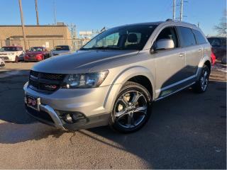 Used 2017 Dodge Journey Crossroad | AWD | Leather| 7 Passenger for sale in St Catharines, ON