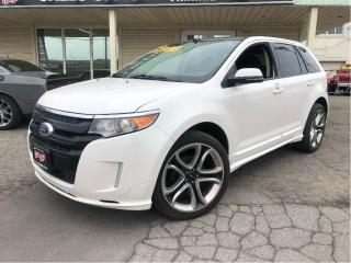 Used 2014 Ford Edge Sport AWD Navigation Leather Panoramic for sale in St Catharines, ON