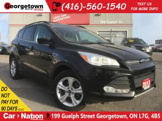 Used 2013 Ford Escape SE | NAVI | HEATED SEATS | BLUTOOTH | CLEAN CARFAX for sale in Georgetown, ON