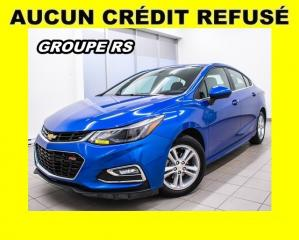 Used 2018 Chevrolet Cruze Rs Lt Sport Bas for sale in St-Jérôme, QC