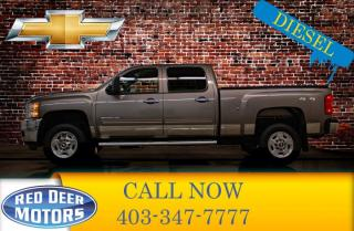 Used 2011 Chevrolet Silverado 2500 HD 4x4 Crew Cab LT Diesel Leather for sale in Red Deer, AB