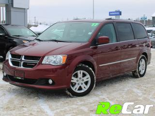 Used 2017 Dodge Grand Caravan Crew 7-PASSENGER | LEATHER | BACKUP CAM for sale in Fredericton, NB