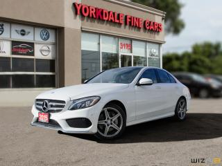 Used 2015 Mercedes-Benz C-Class C400.4Matic Panoramic. Navigation. Blind Spot Assist for sale in Toronto, ON