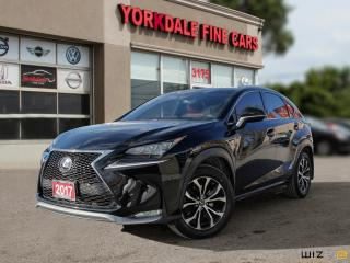 Used 2017 Lexus NX 200t F Sport 2. Navigation. Leather. Roof. Very Clean for sale in Toronto, ON