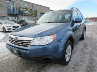 Used 2010 Subaru Forester 2.5 X AWD  5 SPEED  HEATED SEATS  CERTIFIED for sale in Newmarket, ON