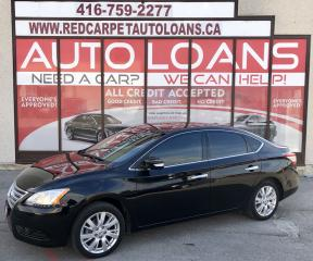 Used 2014 Nissan Sentra 1.8 SL SL-ALL CREDIT ACCEPTED for sale in Scarborough, ON