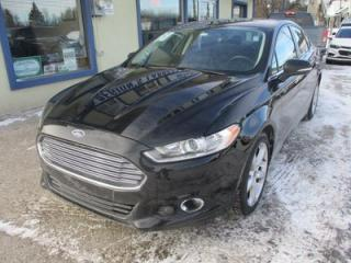 Used 2016 Ford Fusion ALL-WHEEL DRIVE SE MODEL 5 PASSENGER 2.0L - ECO-BOOST.. HEATED SEATS.. SYNC TECHNOLOGY.. BLUETOOTH SYSTEM.. for sale in Bradford, ON