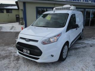 Used 2018 Ford Transit Connect BRAND NEW XLT MODEL 2 PASSENGER 2.0L - DOHC.. THERMO-KING REFRIDGERATOR UNIT.. SLIDING DOORS.. DIVIDER.. CD/AUX INPUT.. for sale in Bradford, ON