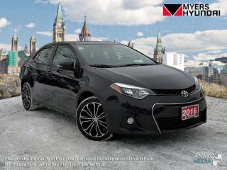 Used 2016 Toyota Corolla S Plus CVT for sale in Bells Corners, ON