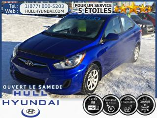 Used 2013 Hyundai Accent GL A/C for sale in Gatineau, QC