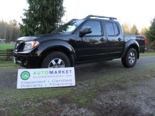 Used 2010 Nissan Frontier LE Crew Cab 4WD for sale in Surrey, BC