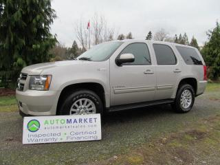 Used 2009 Chevrolet Tahoe HYBRID, LT, AWD, INSP, FREE BCAA MBSHP, FREE WARR, FINANCING! for sale in Surrey, BC