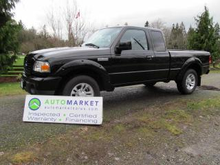 Used 2008 Ford Ranger SPORT, AUTO, A/C, INSP, FREE BCAA MBSHP, FREE WARR AND FINANCING! for sale in Surrey, BC
