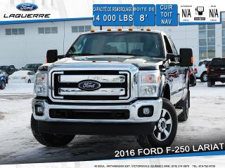 Used 2016 Ford F-250 Lariat Cuir Toit for sale in Victoriaville, QC