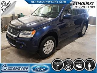 Used 2010 Suzuki Grand Vitara JX for sale in Rimouski, QC
