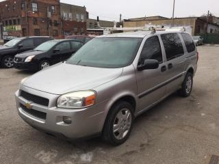 Used 2008 Chevrolet Uplander Construction van for sale in Toronto, ON