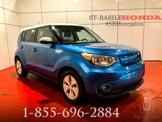 Used 2015 Kia Soul EV LUXE + MOINS CHER AU QUÉBEC ! for sale in St-Basile-le-Grand, QC