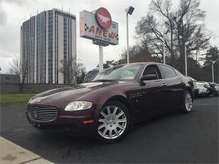 Used 2007 Maserati Quattroporte sport for sale in Cambridge, ON