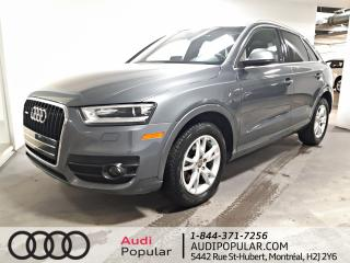 Used 2015 Audi Q3 2.0T Progressiv quattro 4 portes for sale in Montréal, QC