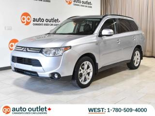 Used 2014 Mitsubishi Outlander GT 4WD; LEATHER, HEATED SEATS, POWER HATCH, ADAPTIVE CRUISE for sale in Edmonton, AB