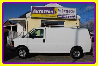 Used 2015 GMC Savana 2500 3/4 Ton Cargo Van, Roof Rack for sale in Woodbridge, ON