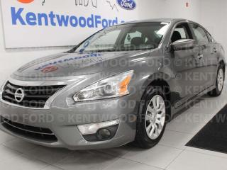 Used 2015 Nissan Altima 2.5 FWD, power drivers seat, push start/stop, back up cam for sale in Edmonton, AB