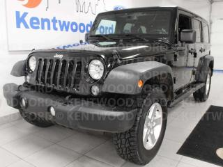 Used 2015 Jeep Wrangler Unlimited Sport 4WD Unlimited 6-SPD manual for sale in Edmonton, AB