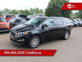 New 2019 Kia Sedona L; 7 PASS, BACKUP CAMERA, BLUETOOTH, ANDROID AUTO/APPLE CAR PLAY, A/C for sale in Edmonton, AB