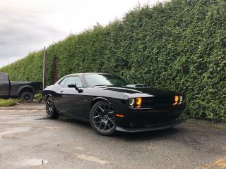 Used 2017 Dodge Challenger R/T Shaker + SUNROOF + LEATHER HEATED/VENT FT SEATS + REAR PARK ASSIST for sale in Surrey, BC