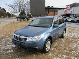 Used 2009 Subaru Forester X w/Premium Pkg ~ HEATED SEATS ~ CERTIFIED for sale in Toronto, ON