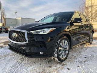 New 2019 Infiniti QX50 ESSENTIAL PKG for sale in Edmonton, AB