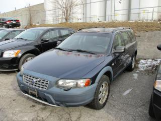 Used 2002 Volvo V70 XC ~ AWD ~ LEATHER ~ AS-IS ~ for sale in Toronto, ON