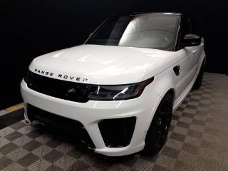 New 2019 Land Rover Range Rover Sport SVR for sale in Edmonton, AB