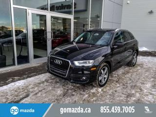 Used 2015 Audi Q3 Progressiv LEATHER SUNROOF HEATED SEATS GREAT SHAPE for sale in Edmonton, AB