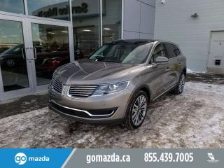 Used 2016 Lincoln MKX RESERVE FULL LOAD GREAT SHAPE DRIVES EVEN BETTER for sale in Edmonton, AB