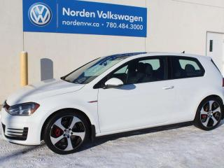 Used 2015 Volkswagen Golf GTI 3DR MANUAL W/ SPORT PKG - VW CERTIFIED for sale in Edmonton, AB