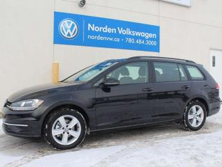 New 2019 Volkswagen Golf Sportwagen SPORTWAGEN - COMFORTLINE 6 SPD M/T W/ DRIVER'S ASSIST for sale in Edmonton, AB