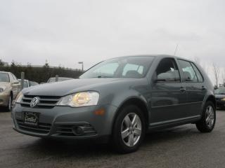 Used 2009 Volkswagen City Golf 2.0 L / ONE OWNER / ACCIDENT FREE for sale in Newmarket, ON