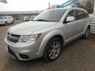 Used 2012 Dodge Journey SXT - Certified w/ 6 Month Warranty for sale in Brantford, ON