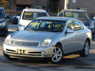 Used 2004 Infiniti G35 NAVIGATION,AWD,LOW KMS, NON-SMOKER, LUXURY,LOADED, for sale in Mississauga, ON