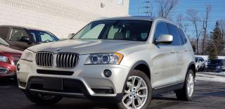 Used 2012 BMW X3 Certified|2 yrs Warranty|Nav|Camera|Panoramic|AWD| for sale in Mississauga, ON