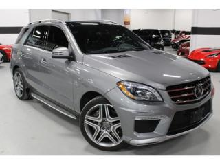 Used 2015 Mercedes-Benz ML-Class ML63 AMG 4MATIC   COMING SOON for sale in Vaughan, ON