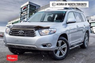 Used 2009 Toyota Highlander 4-Door 4WD V6 Sport 5A 7-Pass Winter Tires Include for sale in Thornhill, ON