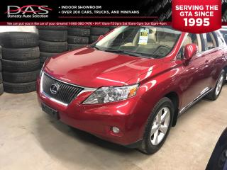 Used 2010 Lexus RX 350 PREMIUM LEATHER/SUNROOF for sale in North York, ON